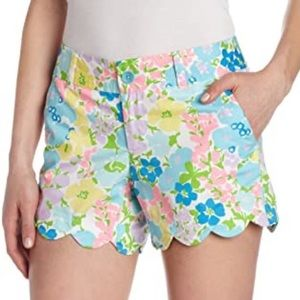 Lilly Pulitzer Sz 2 Spring Fling Buttercup Shorts